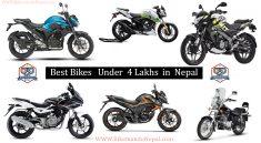 Bikes under 4 lakh in nepal