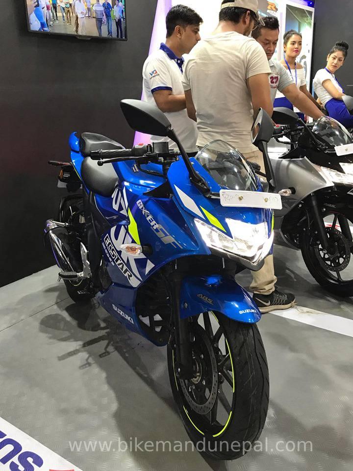 Suzuki Gixxer 250 SF MotoGP edition