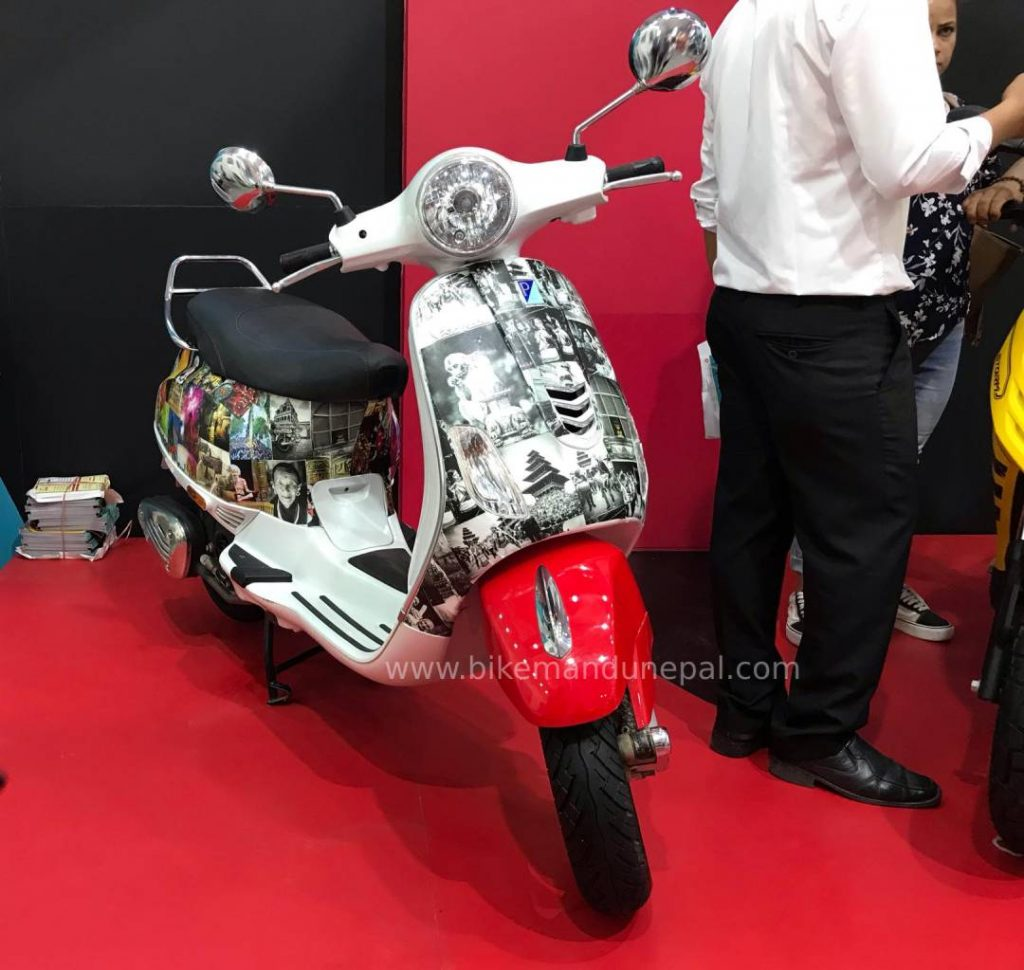 Vespa VXL Customized body