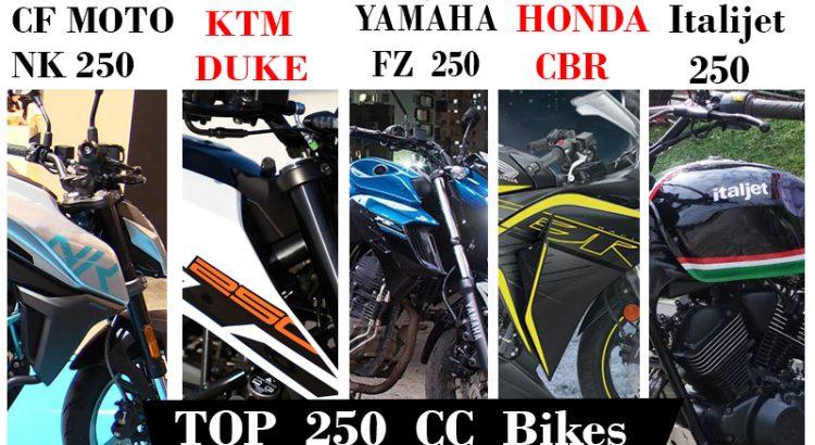 Top 250cc Bikes In Nepal Along With Their Prices Bikemandu Nepal