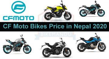 CF Moto bikes price