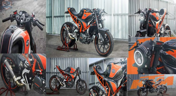 KTM RC 250 Modified