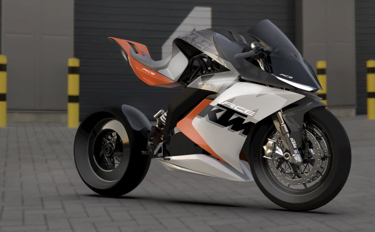 KTM RC Electric Motorcycle