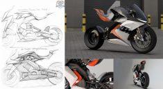 KTM RC Electric Motorcycle